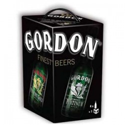 Estuche Gordon Finest Beer 4*33Cl.+Libro