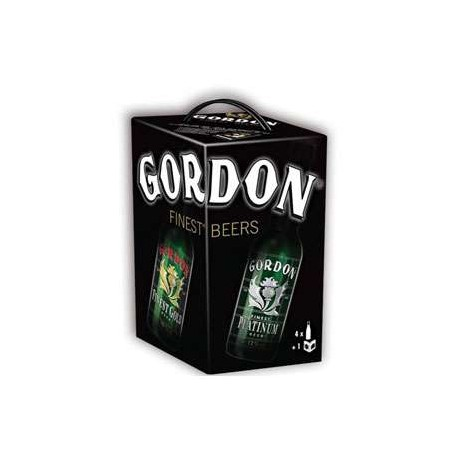 Estuche Gordon Finest Beer 4*33Cl.+Libro
