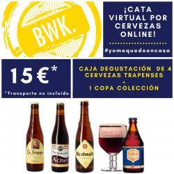 Cata VIRTUAL cervezas Trapenses