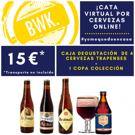 Cata VIRTUAL cervezas Trapenses