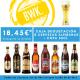 Caja Alemana - 8 cervezas + 1 vaso