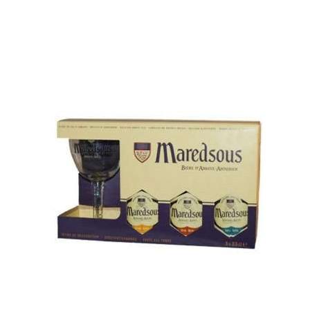 Estuche Maredsous 3*33Cl.+1V
