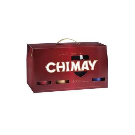 Estuche Chimay Trilogy 6*33 + 1 Vaso