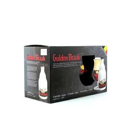 Estuche Gulden Draak 6*33Cl + 1 Vaso