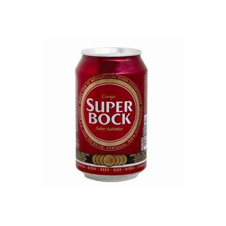 Super Bock Lata 33Cl